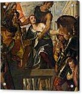 The Martyrdom Of Saint Mena Acrylic Print