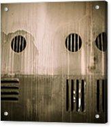 The Masks We Wear Acrylic Print