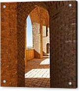 The Mausoleum Of Oljeitu At Soltaniyeh In Iran Acrylic Print