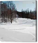 The Mccauley Mountain Ski Area Acrylic Print