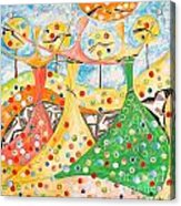 The Meadow 746 - Marucii Acrylic Print