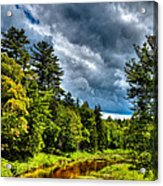 The Meandering Moose River Acrylic Print
