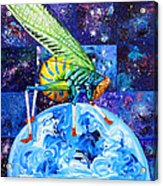 The Meek Shall Inherit The Parallel Universes Acrylic Print
