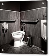 The Mens Room Acrylic Print by Bob Orsillo