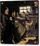 The Menshikov Family In Beriozovo, 1883 Oil On Canvas Acrylic Print