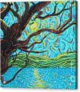 The Mermaid Tree Acrylic Print