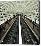 The D.c. Metro Acrylic Print