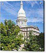 The Michigan Capitol Building Acrylic Print
