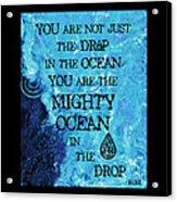 The Mighty Celtic Ocean Acrylic Print