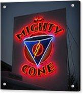The Mighty Cone Of Austin Texas Acrylic Print