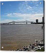 The Mighty Mississippi Acrylic Print
