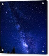 The Milky Way Over Cranberry Wilderness Acrylic Print