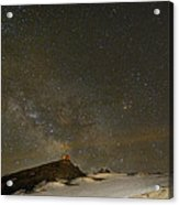 the Milky Way Sagittarius and Antares over the Sierra Nevada National Park Acrylic Print