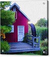 The Mill At Kimberton Acrylic Print