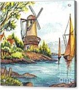 The Olde Mill Acrylic Print