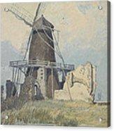 The Mill St Benet's Abbey Acrylic Print