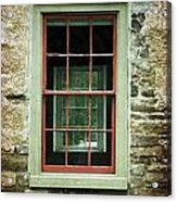 The Mill Window  Acrylic Print
