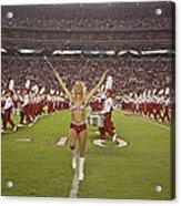 The Million Dollar Marching Band Of The University Of Alabama Acrylic Print