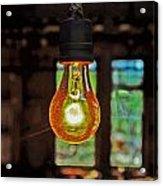 The Miner Light Acrylic Print