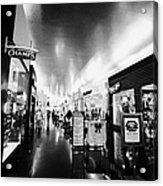 the miracle mile shops at planet hollywood casino Las Vegas Nevada USA Acrylic Print