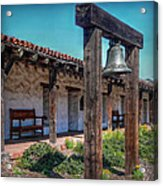 The Mission Bell Acrylic Print