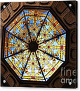 The Mission Inn Looking Up Acrylic Print