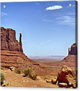 The Mittens Monument Valley Acrylic Print