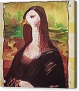 The Mona Goosa Acrylic Print