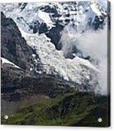 The Monk - Swiss Bernese Alps Acrylic Print