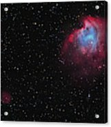 The Monkey Head Nebula And Sh2-247 Acrylic Print