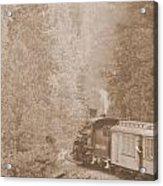 The Morning Train Acrylic Print