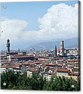 The most beautiful city in the world Acrylic Print