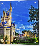 The Most Magical Of Kingdoms Acrylic Print