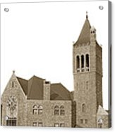 The Mother Church The First Church Of Christ Scientist Boston Massachusetts Circa 1900 Acrylic Print