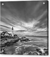 The Motion Of The Lighthouse Acrylic Print