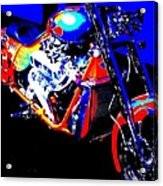 The Motorcycle As Art Acrylic Print