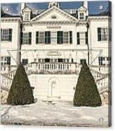 The Mount Edith Warton Estate Lenox Ma Acrylic Print