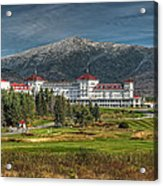 The Mount Washington Hotel Acrylic Print