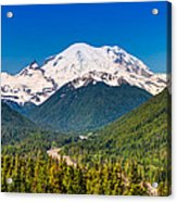 The Mountain And The Valley Acrylic Print by Rich Leighton
