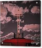 The Mt. Soledad Cross - Part 1  Acrylic Print