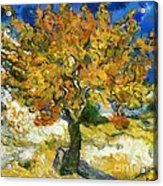 The Mulberry Tree After Van Gogh Acrylic Print