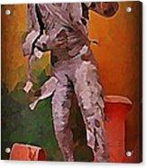 The Mummy Acrylic Print by John Malone