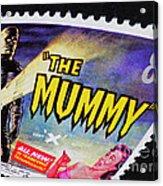 The Mummy Postage Stamp Print Acrylic Print