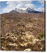 The Munro Of Sgurr Nan Fhir Duibhe Acrylic Print