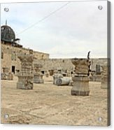 The Museum At Dome Of The Rock Acrylic Print