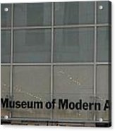 The Museum Of Modern Art Acrylic Print