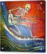 The Music Must Go On Acrylic Print