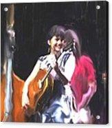 The Music Of Norah Jones Acrylic Print