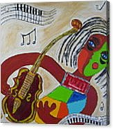 The Music Practitioner Acrylic Print