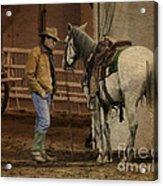 The Mustang Whisperer Acrylic Print